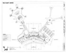 American Airlines Floor Plan Floor Plan Trans World Airlines Flight Center
