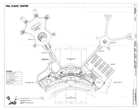 international airport floor plan main floor plan trans world airlines flight center john
