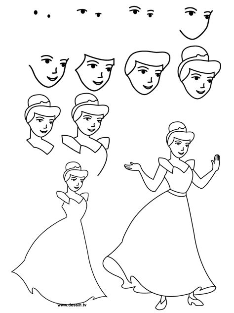 how to draw for learn to draw step by step easy and step by step drawing books books how to draw cinderella