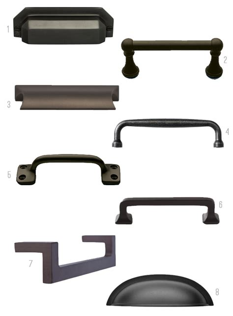 Black Kitchen Cabinet Handles Black Hardware Kitchen Cabinet Ideas The Inspired Room