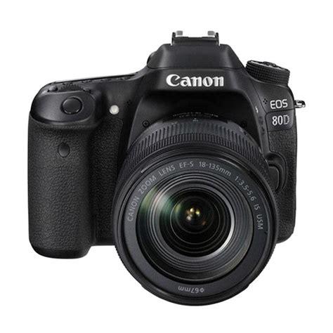 jual canon eos 80d kit ii ef s 18 135mm is usm kamera dslr harga kualitas terjamin