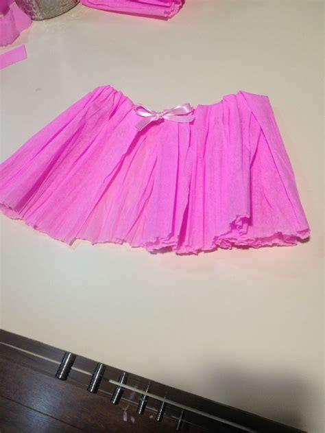 como realizar una falda de papel crepe tutu de papel crepe girls 5th birthday party pinterest