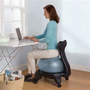 Best Exercise Ball Chair Balance Ball Chair The Green Head