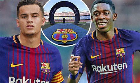 barcelona news transfer barcelona transfer news philippe coutinho and ousmane