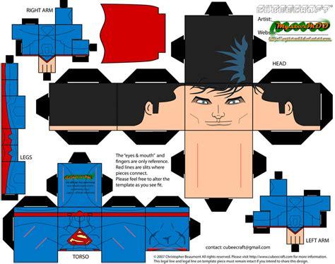 Superman Papercraft - superman cape paper pattern crafts