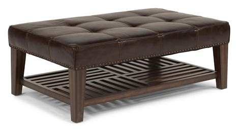 Cocktail Ottoman by Flexsteel Latitudes Port Royal Upholstered Cocktail