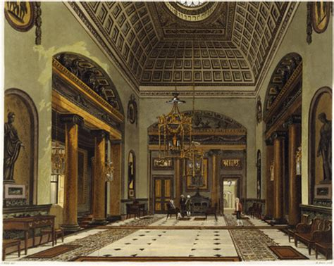 carlton house entrance hall carlton house 1819 memoryprints com high quality art prints