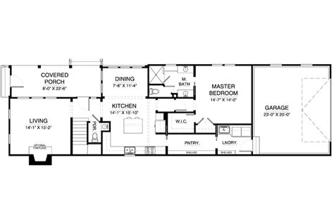 Colonial style house plan 3 beds 2 50 baths 1656 sq ft plan 900 6