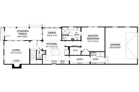 Colonial Style House Plan   3 Beds 2.50 Baths 1656 Sq/Ft