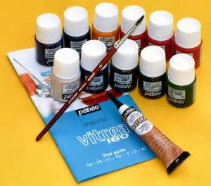 art n craft today types of glass paint