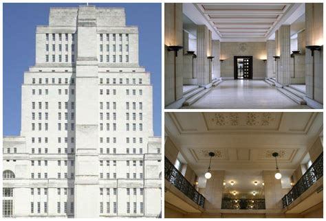 Classical House Design by Exploring Art Deco Architecture In London Senate House