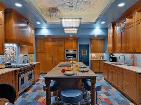 Pops Kitchen by 10 Kitchens That Pop With Color Hgtv