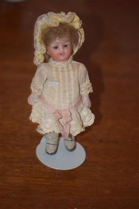 antique bisque dollhouse doll antique doll miniature bisque dollhouse from oldeclectics