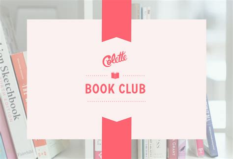 book club pictures welcome to the colette book club colette