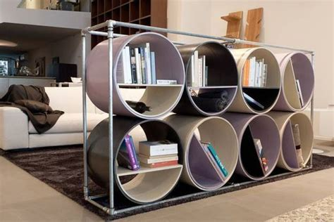 recycling plastic and metal pipes for unique furniture 50 furniture design ideas
