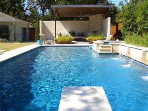 Swimming Pool Designers Modern Swimming Pool With Outdoor Living Room Using Canopy