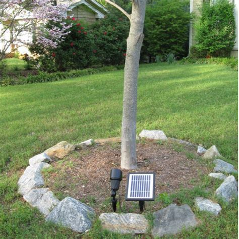 solar spot lights for trees solar goes green commercial grade solar spot light