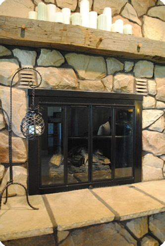 painting fireplace doors pin by shelby elyea on diy