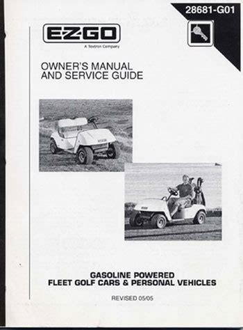 ezgo product manuals