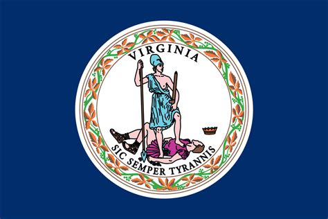 virginia state virginia state flag flagnations