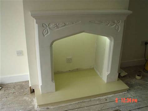 Plaster Fireplace Surround by Plaster Surrounds And Marble Backs And Hearths From