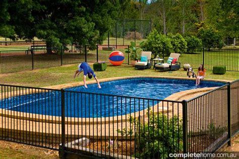 diy mesh pool fence diy pool fencing completehome