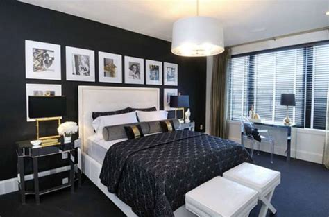 Black Bedroom by How To Create Stunning Interior Design In Black N White