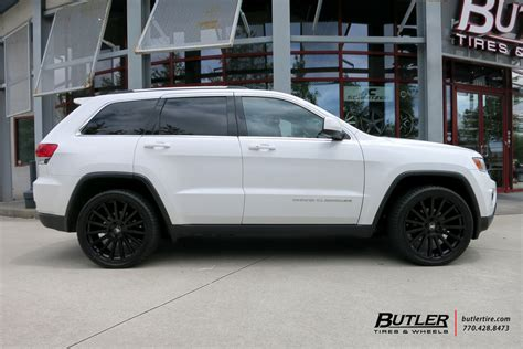 white jeep grand wheels jeep grand overland black wheels