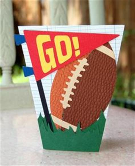 Handmade Football Cards - sport cards on football cards handmade cards