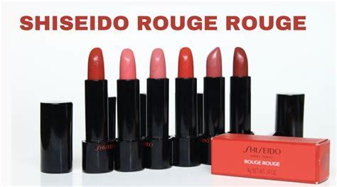 Shiseido Lipstick swatch review shiseido lipstick