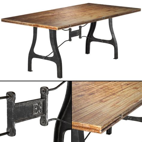 nuevo v4 a leg small dining table with reclaimed wood top