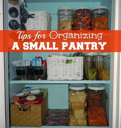 Organizing A Small Pantry by Tips For Organizing A Small Pantry Projects