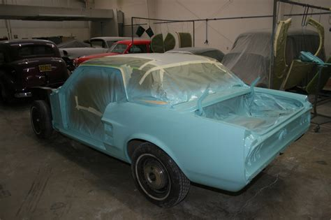 Mustang Auto Shop by 1967 Mustang Metalworks Classics Auto Restoration