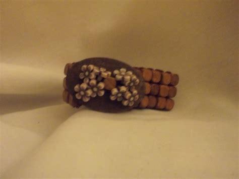 Handmade Wooden Bracelets - handmade wooden bracelet 7 5 quot 8 quot