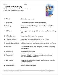 printable titanic quiz 1000 images about titanic on pinterest worksheets