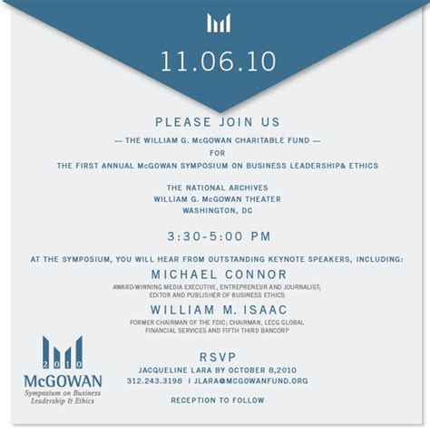 free business invitation templates sle business luncheon invitation michael connor to