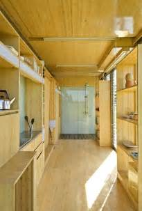 container home interiors port a bach shipping container home idesignarch