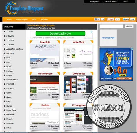 11 website penyedia template blog untuk blogspot