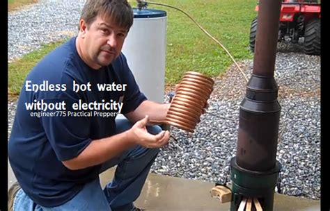 heat to electricity diy heat water without electricity make a high