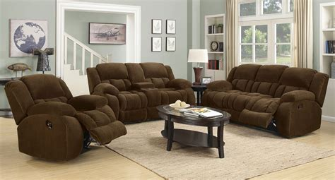 Brown Living Room Sets Weissman Reclining Living Room Set Brown Living Room Sets Living Room Furniture Living Room