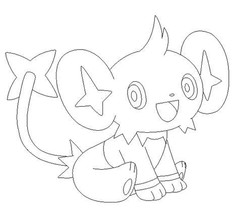 pokemon coloring pages shinx pokemon shinx coloring pages images pokemon images