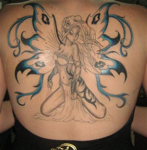 blue fairy tattoo designs fairies images designs