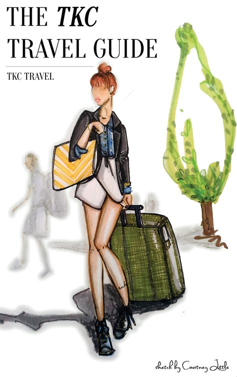 fashion illustration guide travel with style tomboy kc