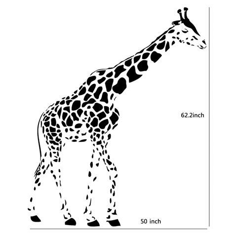 Giraffe Pattern Wall Stencil | giraffe pattern stencil