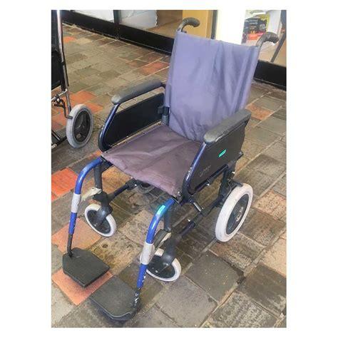 silla de ruedas plegable segunda mano silla de ruedas plegable segundamano breezy 312 perfecto