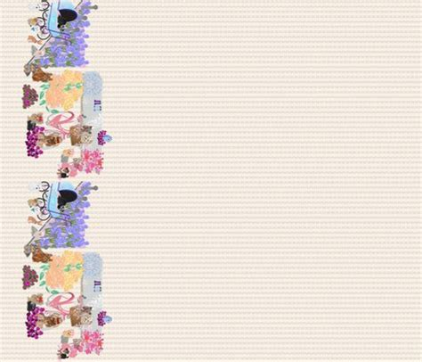 yorkie wallpaper border yorkie garden border print fabric sherry spoonflower