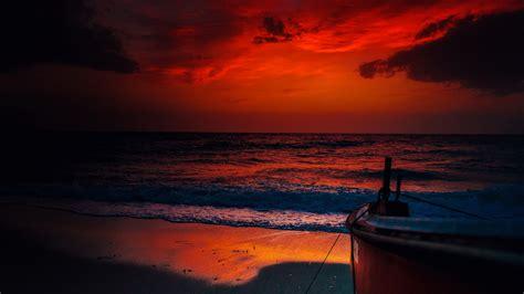 fondo pantalla bonita noche mar fondos de pantalla 1920x1080 cielo amaneceres y