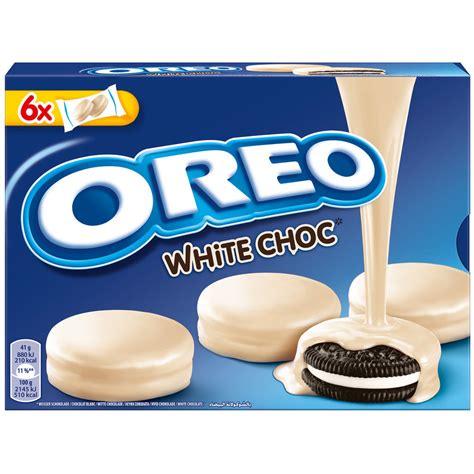 oreo white chocolate 137gr oreo choc white white chocolate covered cookies made in