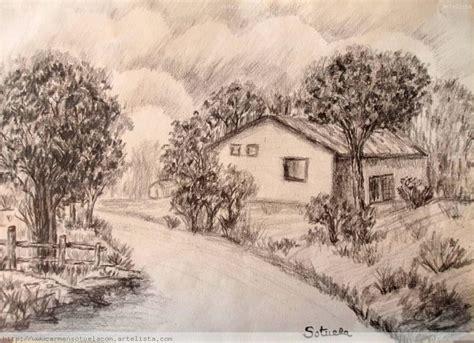 imagenes de paisajes dibujados a lapiz paisaje a l 225 piz carmen rodriguez sotuela artelista com en