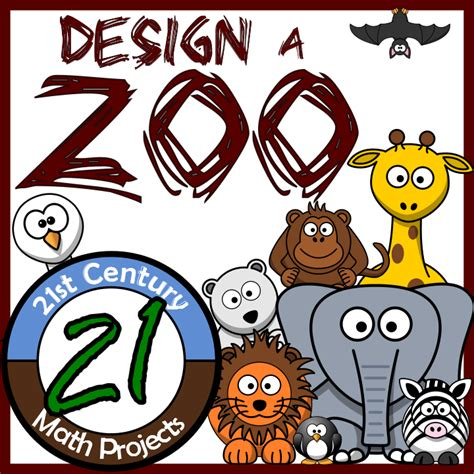 design a zoo online 21st century math projects middle high school real